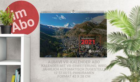 Aumivi Kalender Abo (wird jährlich zugestellt)
