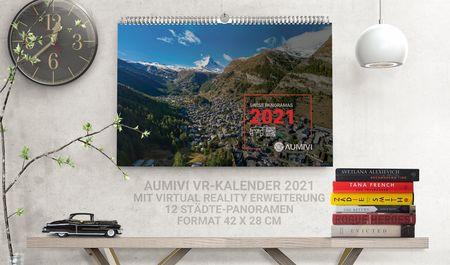 1x Aumivi Kalender 2021 mit VR Erweiterung
